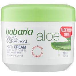 Babaria Aloe Vera testápoló krém aleo verával  400 ml