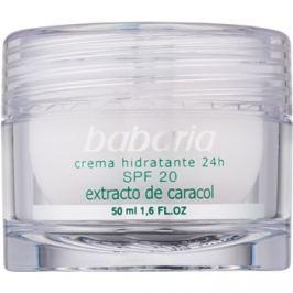 Babaria Extracto De Caracol hidratáló krém csiga kivonattal SPF 20 50 ml