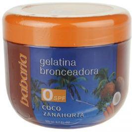 Babaria Sun Bronceadora napbarnítást elősegítő gél kókuszzal és sárgarépával  200 ml