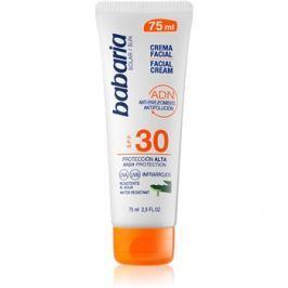 Babaria Sun Face napozókrém arcra SPF30  75 ml