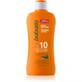Babaria Sun Protective vízálló napozótej SPF 10  300 ml