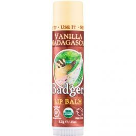 Badger Classic Vanilla Madagascar ajakbalzsam  4,2 g