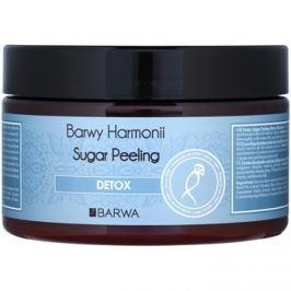 Barwa Harmony Detox cukor peeling tisztító védő hatással Bamboo & Sugar Cane Extract 250 ml