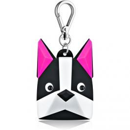Bath & Body Works PocketBac Boston Terrier szilikonos tok antibakteriális gélhez