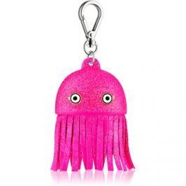 Bath & Body Works PocketBac Pink Jellyfish világító szilikon tasak antibakteriális gélhez