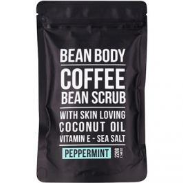 Bean Body Peppermint testradír  220 g