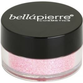 BelláPierre Cosmetic Glitter kozmetikai csillámpor árnyalat Light Pink 3,75 g