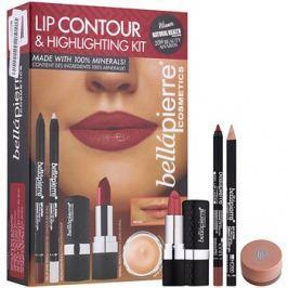 BelláPierre Lip Contour & Highlighting Kit kozmetika szett I.