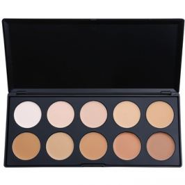 BHcosmetics 10 Color korrektor- és make-up paletta  20 g