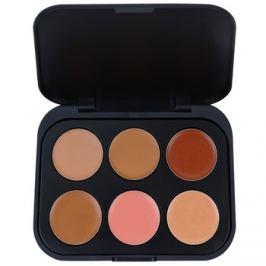 BHcosmetics 6 Color korrektor paletta árnyalat Dark  5,8 g
