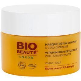 Bio Beauté by Nuxe Masks and Scrubs vitaminos méregtelenítő maszk narancsvízzel  50 ml