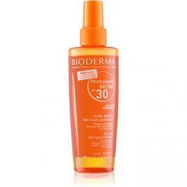 Bioderma Photoderm Bronz védő száraz olaj spray változatban SPF30  200 ml