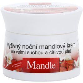 Bione Cosmetics Almonds tápláló éjszakai krém a nagyon száraz és érzékeny bőrre  51 ml