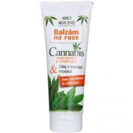 Bione Cosmetics Cannabis regeneráló és hidratáló balzsam kézre  205 ml