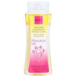 Bione Cosmetics Hyaluron Life kétfázisú micelláris víz hidratáló hatással  255 ml