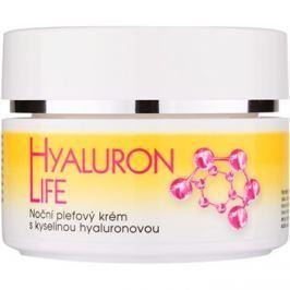 Bione Cosmetics Hyaluron Life éjszakai arckrém hialuronsavval  51 ml