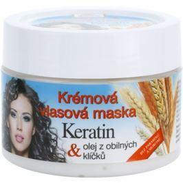Bione Cosmetics Keratin Grain krémes maszk minden hajtípusra  260 ml