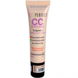 Bourjois 123 Perfect CC krém hibátlan hatásért villámgyorsan árnyalat Ivory 31 SPF 15 30 ml