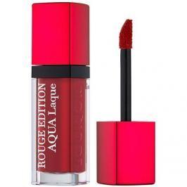 Bourjois Rouge Edition Aqua Laque hidratáló rúzs magasfényű árnyalat 05 Red my lips 7,7 ml