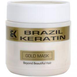 Brazil Keratin Gold keratinos regeneráló maszk a károsult hajra  500 ml