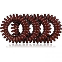 BrushArt Hair Rings szilikonos hajgumi  Brown