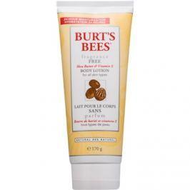 Burt's Bees Shea Butter Vitamin E testápoló tej bambusszal parfümmentes  170 g