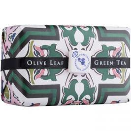 Castelbel Portuguese Tile Olive Leaf & Green Tea luxus szappan  300 g
