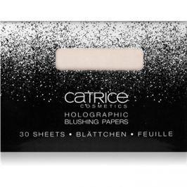 Catrice Dazzle Bomb holografikus arcpirosító papír  árnyalat 01 Champagne Showet 30 db