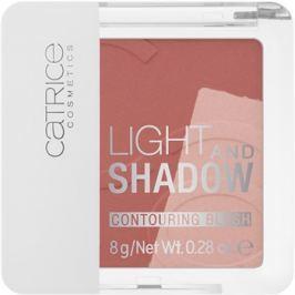 Catrice Light & Shadow kontúrozó arcpír árnyalat 010 Bronze Me Up, Scotty! 8 g