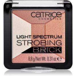 Catrice Light Spectrum Strobing Bricks élénkítő árnyalat 010 Brown Brilliance 8,8 g