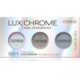 Catrice Luxchrome színes por körömre árnyalat 01 Effect Overload 3 x 1 g