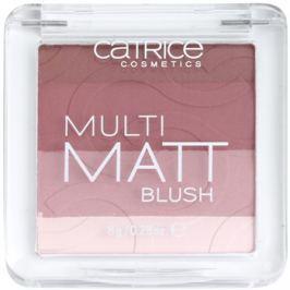 Catrice Multi Matt arcpirosító matt hatással árnyalat 020 La-Lavender 8 g