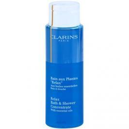 Clarins Body Specific Care relaxáló fürdő- és tusoló gél esszenciális olajokkal  200 ml