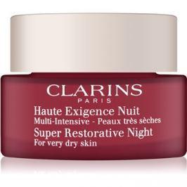 Clarins Super Restorative éjszakai krém az öregedés összes jele ellen nagyon száraz bőrre  50 ml