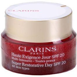 Clarins Super Restorative ránctalanító nappali lifting krém minden bőrtípusra SPF 20  50 ml