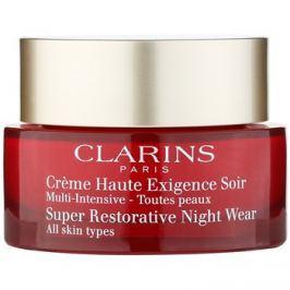 Clarins Super Restorative éjszakai revitalizáló krém minden bőrtípusra  50 ml