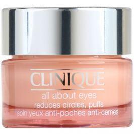 Clinique All About Eyes szemkrém a duzzanatokra és a sötét karikákra  15 ml
