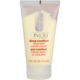 Clinique Deep Comfort mélyen hidratáló krém kézre, körömre és körömbőrre  75 ml