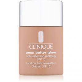 Clinique Even Better Glow bőrélénkítő make-up SPF15 árnyalat CN 58 Honey 30 ml