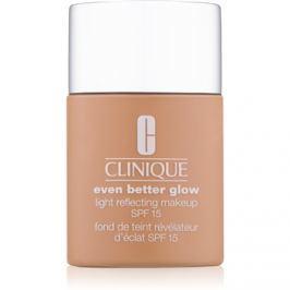 Clinique Even Better Glow bőrélénkítő make-up SPF15 árnyalat WN 76 Toasted Wheat 30 ml