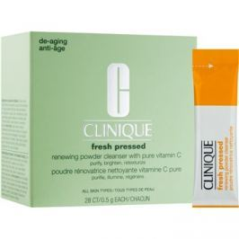 Clinique Fresh Pressed tisztító púder C vitamin  28 x 0,5 g