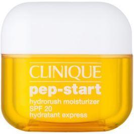 Clinique Pep-Start hidratáló és védő krém SPF 20  50 ml