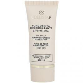 Collistar Foundation Supermoisturizing hidratáló make-up SPF 10 árnyalat 3 Peach 30 ml