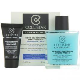 Collistar Man borotválkozás utáni gél + nappali hidratáló krém minden bőrtípusra  100 ml