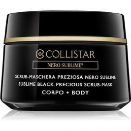 Collistar Nero Sublime® peeling maszk testre  450 g