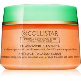 Collistar Special Perfect Body regeneráló peelinges só a bőr öregedése ellen  700 g