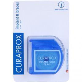 Curaprox DF 845 fogselyem fogszabályzó és implantátumok tisztításához  50 db