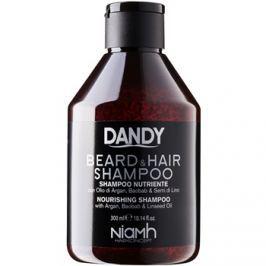 DANDY Beard & Hair Shampoo sampon hajra és szakállra  300 ml