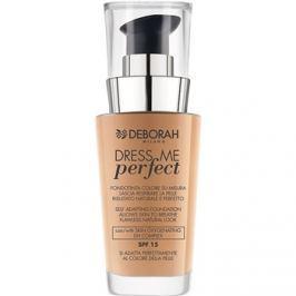Deborah Milano Dress Me Perfect természetes hatású make-up  SPF15 árnyalat 03 Sand 30 ml