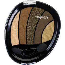 Deborah Milano Perfect Smokey Eye szemhéjfesték  applikátorral árnyalat 05 Kaki 5 g